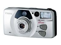 Canon Sure Shot 85 Platinum Zoom 35mm Camera