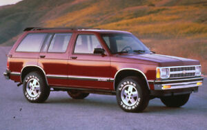 Wanted early 90s s10 blazer