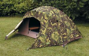 USMC 2 Man Tactical Combat Tent & Rain Fly & Poles Diamond Brand B Stock