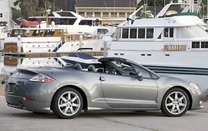 2009 Mitsubishi Eclipse Spyder Convertible Automatic No accident