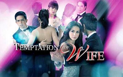 Temptation Of Wife   Pinoy Version Complete Set Filipino Tv Series Dvd Teleserye