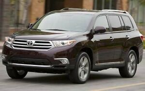 Want to buy '11-'13 Toyota Highlander