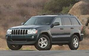 2005 Jeep Grand Cherokee Trail rated SUV, Crossover