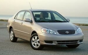 Looking for a 2003+ Toyota Corolla