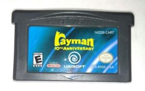Rayman 10th Anniversary GBA game