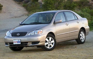 Looking For 2003-2008 Toyota Corolla 1.8l Parts Car