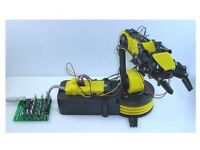 USB Controlled Robotic Arm Construction Kit BNIB