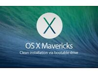 Apple OS X Mavericks 10.9.5 - Full Installation c/w Instructions