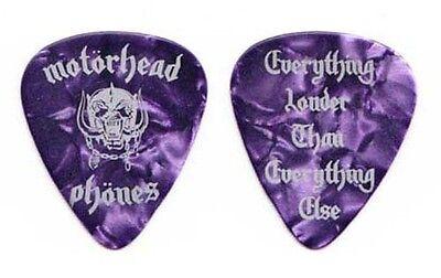 Motorhead Phones Purple Pearl Guitar Pick