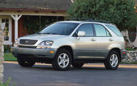 2000 Lexus RX 300 SUV, Great Condition, Well Maintained! $5,950