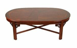 Elegant Antique Mahogany Coffee Table