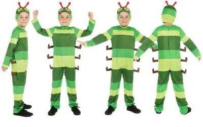Tier Kinder Caterpillar Kinder Kostüm Buchwoche Tag Kostüm Hungrig