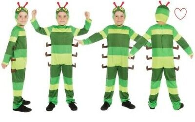 Tier Kinder Hungrig Caterpillar Kinder Kostüm Buchwoche Tag Kostüm