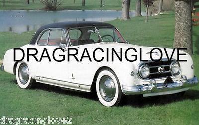 1953 Nash-Healey Classic American Car 8x10 GLOSSY PHOTO!