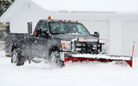 Snow removal residential & commercial (plowing, shovel)