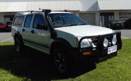 '04 Holden Rodeo Dual Cab with NO DEPOSIT FINANCE!* O'Connor Fremantle Area Preview