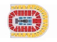 WWE LIVE Tickets BLOCK A1 London o2 Arena Wednesday 7th September £130 Each