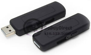 4 GB USB Voice Activated Digital Audio Recorder / 24 Hrs. Batter