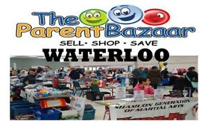 BOOK YOUR PARENT TABLES - Fall Waterloo Mom to Mom Sale!