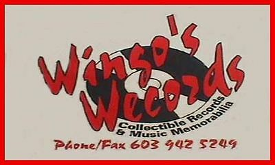 WINGO'S WECORDS