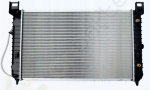 """New Radiator 28"""" Core, p/n 2334 & Thermostat, fit most GM/Chevy!"""