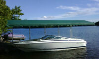 Cantilevered Boat Awning - Aquadome