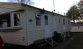 Haggerston Castle caravan to rent