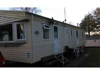 Haggerston Castle caravan to let