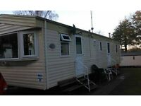 Haggerston Castle caravan to let 2017