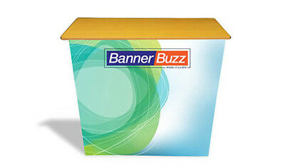 Pop Up Trade Show Counter Table Promotional Advertising Portable Display Stand