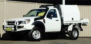 2011 Ford Ranger PK XL (4x4) 5 Speed Manual Cab Chassis Lismore Lismore Area Preview