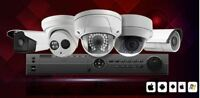 Security camera system installation for home and office.