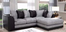 """""""""""""""""""FAST DELIVERY"""""""""""""""" Brand New Byron 3 nd 2 sofa or corner sofa in jumbo cord fabric"""