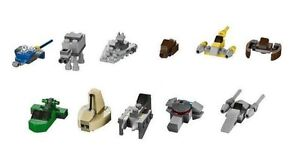 LEGO Star Wars 9509 Mini Vehicles Lot of 11 Brand New with Instructions