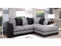 【BRAND NEW】FLAT 70% DISCOUNTED OFFER ★★ JUMBO CORD BYRON CORNER / 3+2 SOFA SET -GET IT TODAY