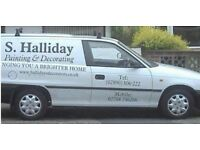 ★ Hallidays Decorators ★ Belfast ★ Painter & Decorator Available for all Painting & Decorating Work★