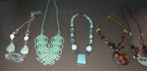 5 New Necklaces