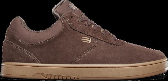 Skateboardschuhe ETNIES JOSLIN MICHELIN SOHLE Brown Gum Sneaker Lo Top