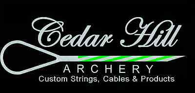 Custom Archery String or Cable  For Any Bear Compound Bow 2 color upto 65