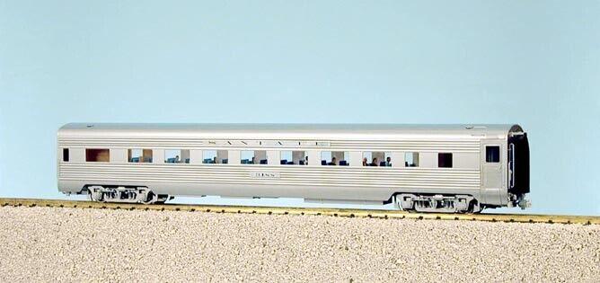 """USA Trains R31002 G Santa Fe """"Super Chief"""" Coach #2 - Stainless Steel LN/Box"""
