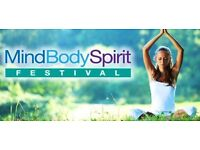 SPARE TICKET FOR BODY, MIND & SPIRIT WELLBEING FESTIVAL AT OLYMPIA SUN 30/4/17