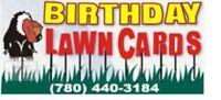 Birthday Lawn Card Rentals