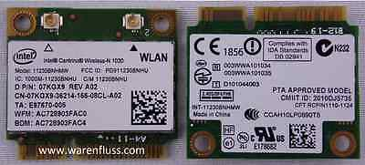 Express Intel Notebooks (Notebook Intel® Centrino® N 1030 WLAN Mini PCI Express  + Bluetooth  11230BNHMW)