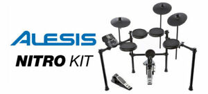 BRAND NEW Alesis Nitro Drum Kit, 8-Piece Electronic Drum Kit – S