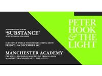 2 Peter Hook and the light for tonight at Manchester Academy