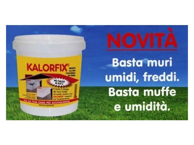 Kalorfix Tecnostuk fissativo termoisolante anticondensa da 1 litro