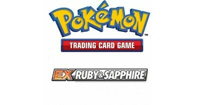 Pokemon TCG EX Ruby and Sapphire - Rare Cards ()