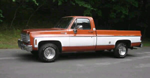 Wanted Chevrolet Truck