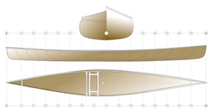 Canoe Plans for Amateur Woodworkers