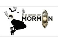 2 x Book of Mormon Tickets, Matinée 2:30pm TODAY - £25 each